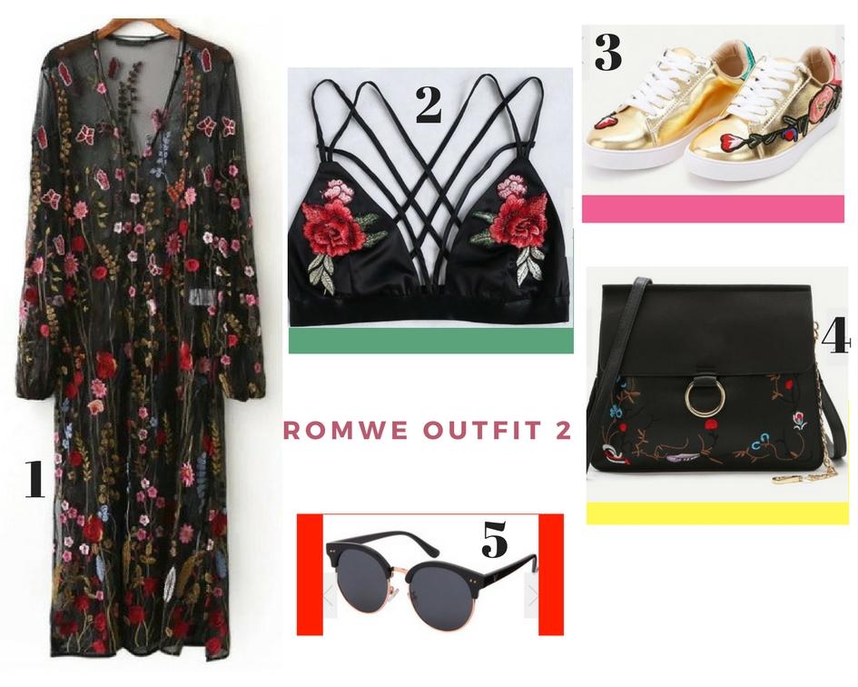 ROMWE Wishlist: Gaga Over Embroidery