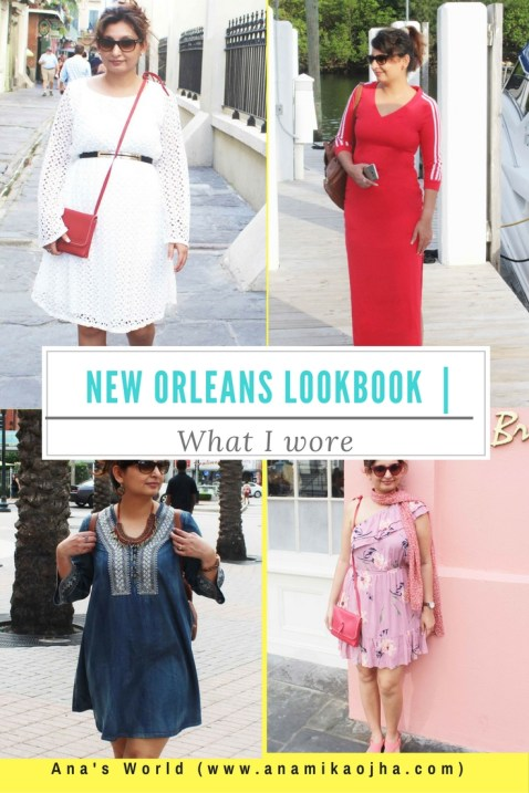 New Orleans Lookbook | What I wore