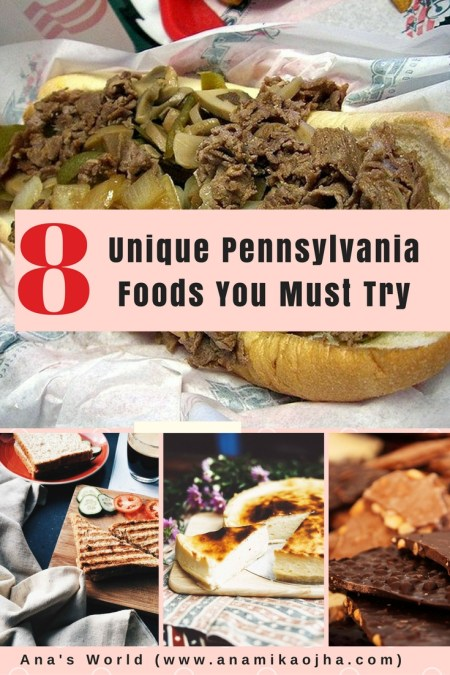 8 Unique Pennsylvania Foods You Must Try