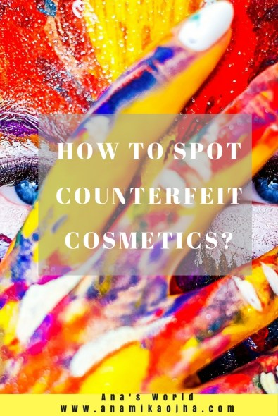 How To Spot Counterfeit Cosmetics?