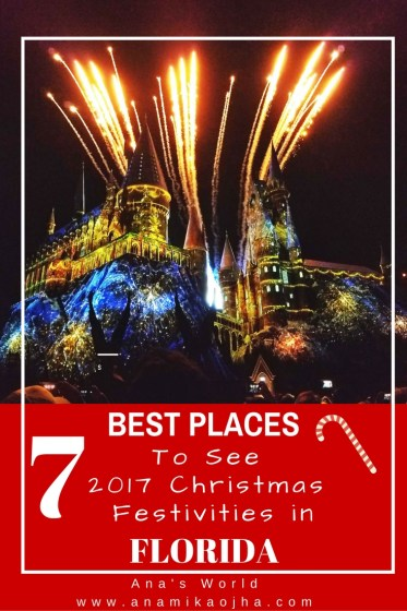 7 Best Places To See 2017 Christmas Festivities In Florida