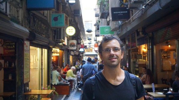 Getting lost in the 19th century laneways and arcades, lots of cute shops and cafes