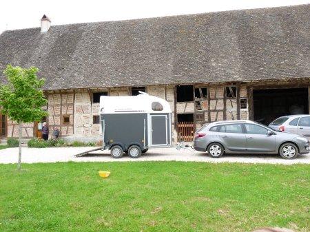 Une ferme typique de la Bresse.