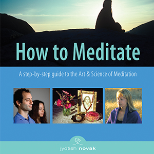 How to Meditate by Jyotish Novak