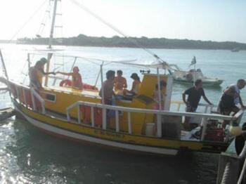 """O Barco de """"Galego"""" em Pipa (mais informações do passeio aqui)"""