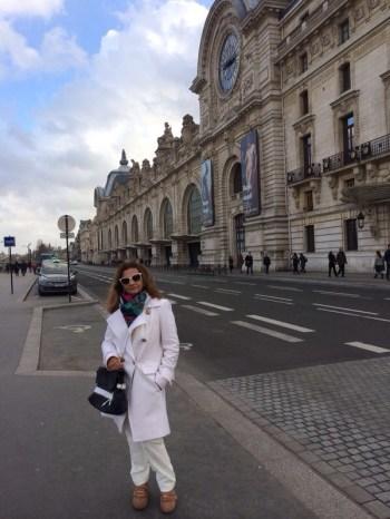 Em frente ao D'Orsay