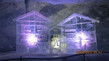 Glacier Paradise – Esculturas de Gelo