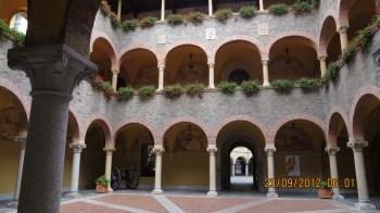 Arcadas do Palazzo Civico