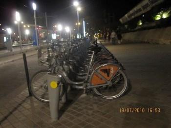 Bikes para alugar..