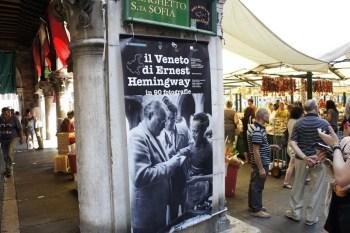 E ainda encontramos Hemingway por lá! hehehe