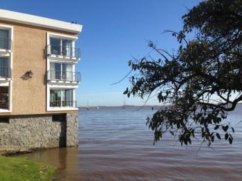 O Radisson, com vista para o rio!