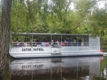 O tipo do barco que fizemos o tour pelos pântanos (foto do site do Cajun Pride)