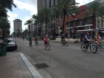 Bicicletas na Canal Street