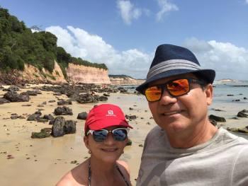 Caminhando pelas praias de Pipa