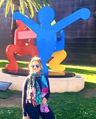 No Golden Gate Park, em frente ao museu De Yooun