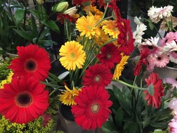 Flores no mercado de flores....
