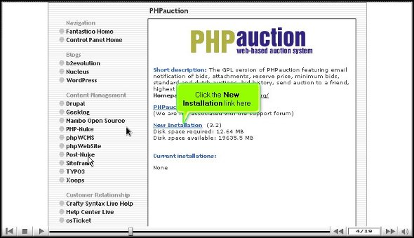 phpauction