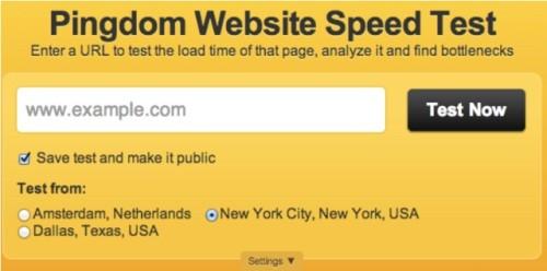 Website Speed Measuring Tools