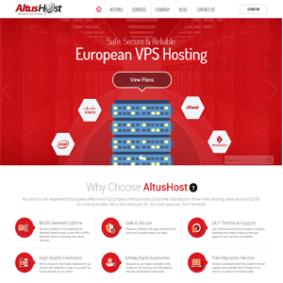 Hosting Review – AltusHost