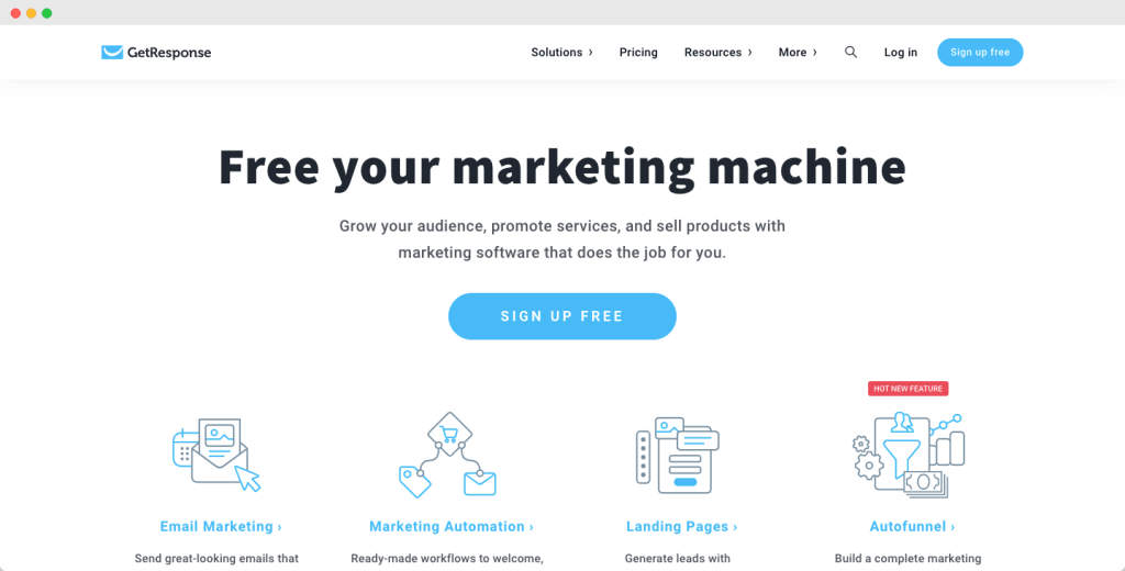 Getresponse - Best and Cheap Email Marketing Platforms
