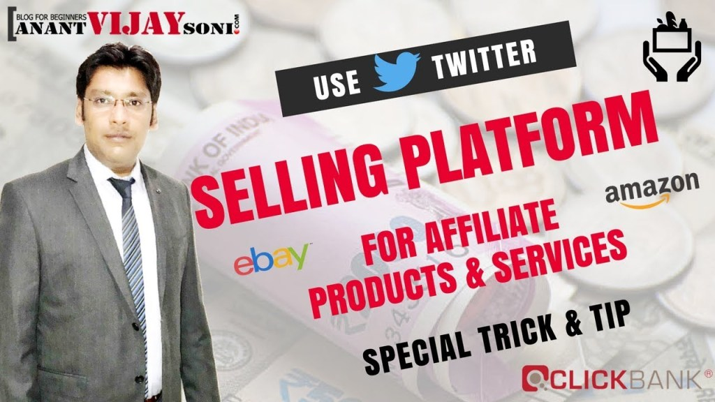 Use Twitter as a Selling Platform for Products and Services