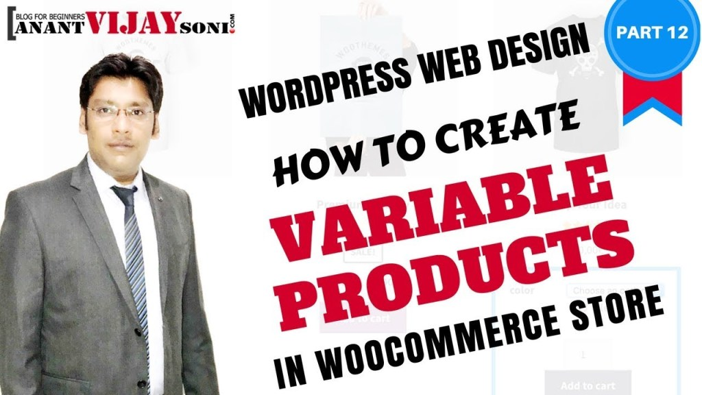 How to Create A Variable Products in WooCommerce Store (PART-12)