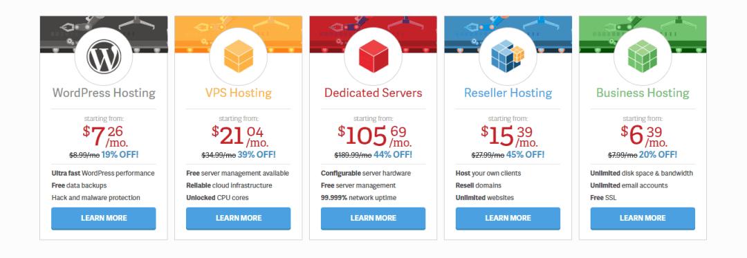 InMotion Hosting Plans Best for WordPress hosting