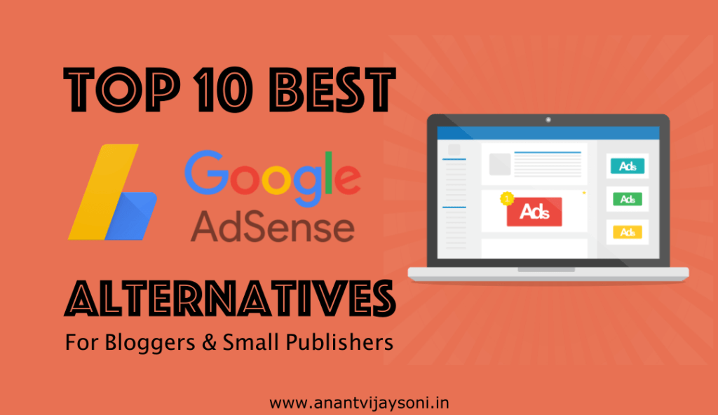 Top 10 Best Google AdSense Alternatives for Small Publishers