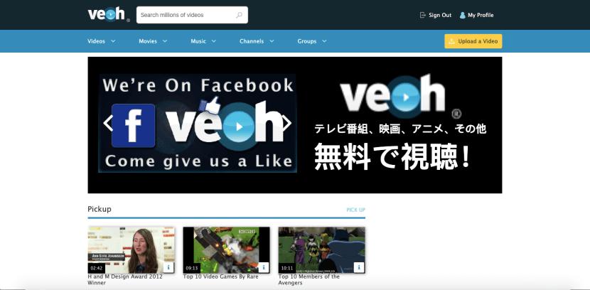 Veoh - Best Youtube Alternative