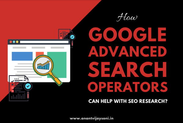How Google Advanced Search Operators Can Help With SEO Research?