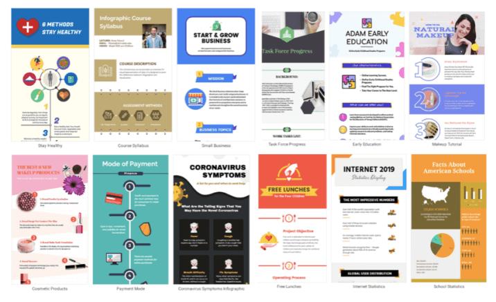 Choose an ideal template - DesignCap