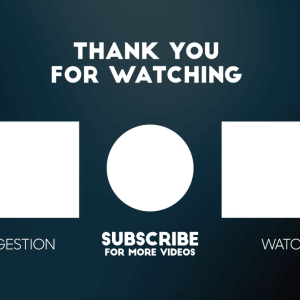 Youtube End Screen Video Template
