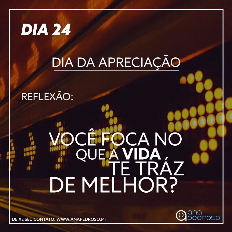 Ana Pedroso-Programa 27 dias #24 | 2