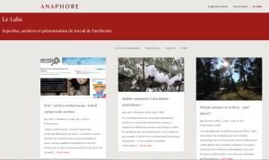 Anaphore Labs 2015