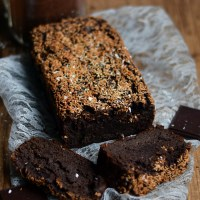 Zdrowe awokado brownie / Healthy avocado brownie.