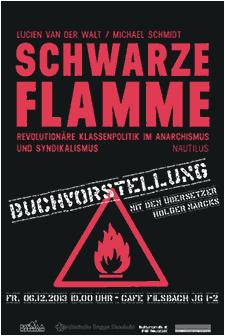 Buchvorstellung: Schwarze Flamme
