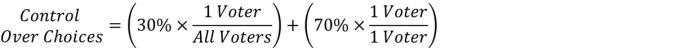 (??????? ???? ?ℎ?????)=(30%×(1 ?????)/(??? ??????))+(70%×(1 ?????)/(1 ?????))