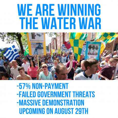 Winning the water war in Ireland