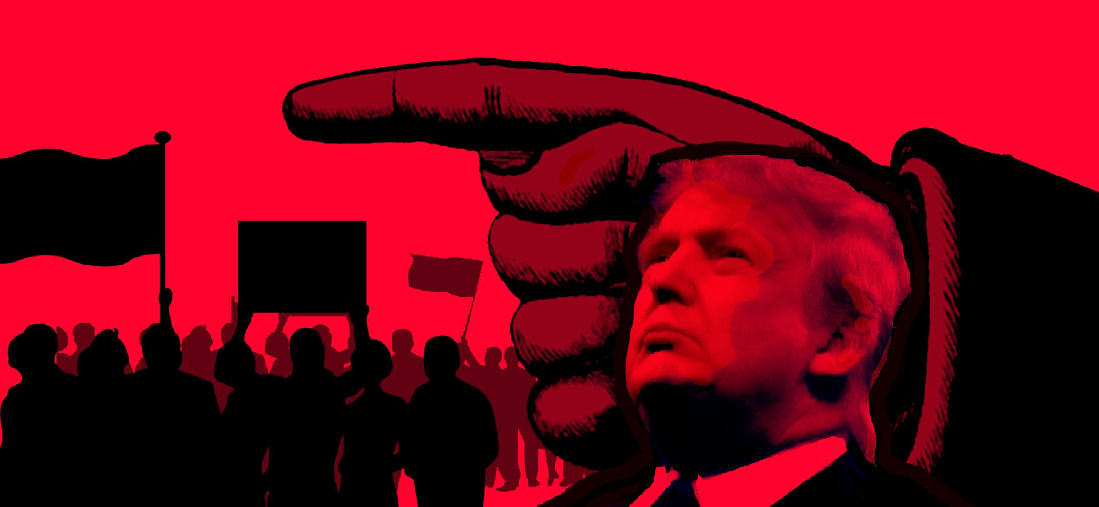 Image result for images of authoritarian by Trump in 2017