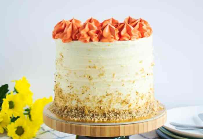 Carrot Cake With Orange Cream Cheese Frosting Anas Baking Chronicles