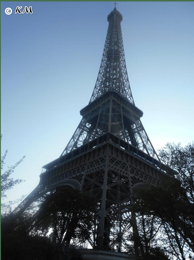 Eifffel tower paris france