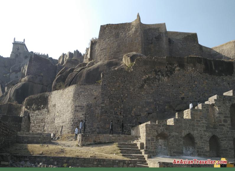 Golconda Fort, Hyderabad, Telengana