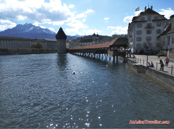 Lucerne Lake Switzerland