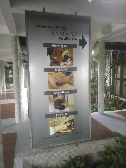 Ramada resort facilities cochin