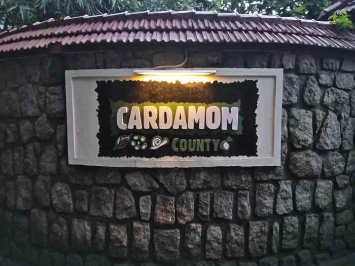Cardamom County Thekkady Resort