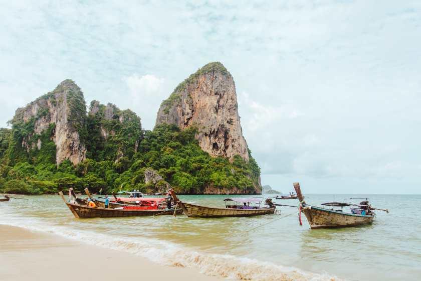 Railay Beach Krabi Thailand top 5 asian destinations