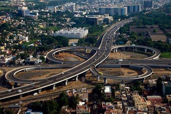 Chennai Kathipara Flyover