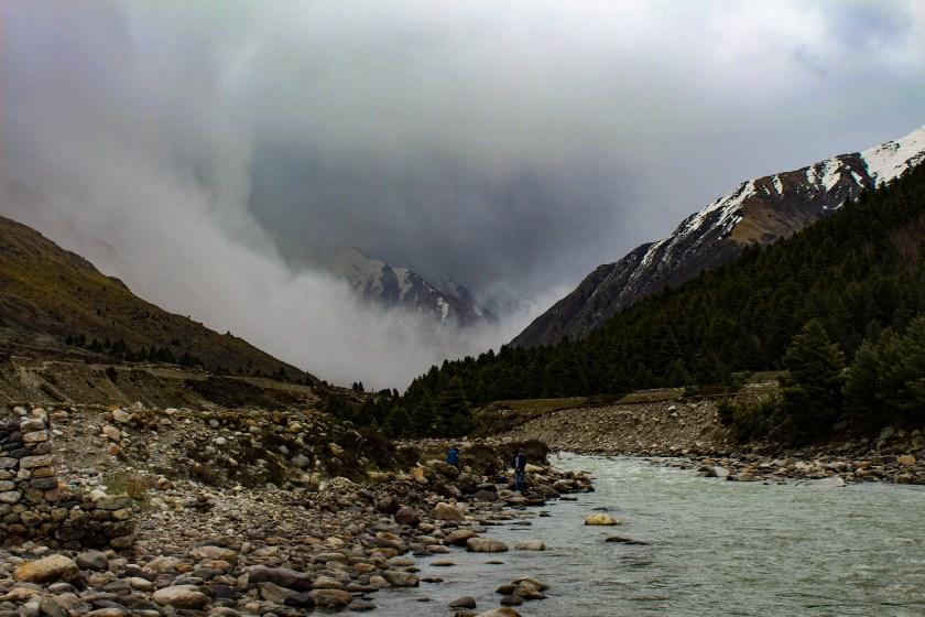Chitkul Himalayas River