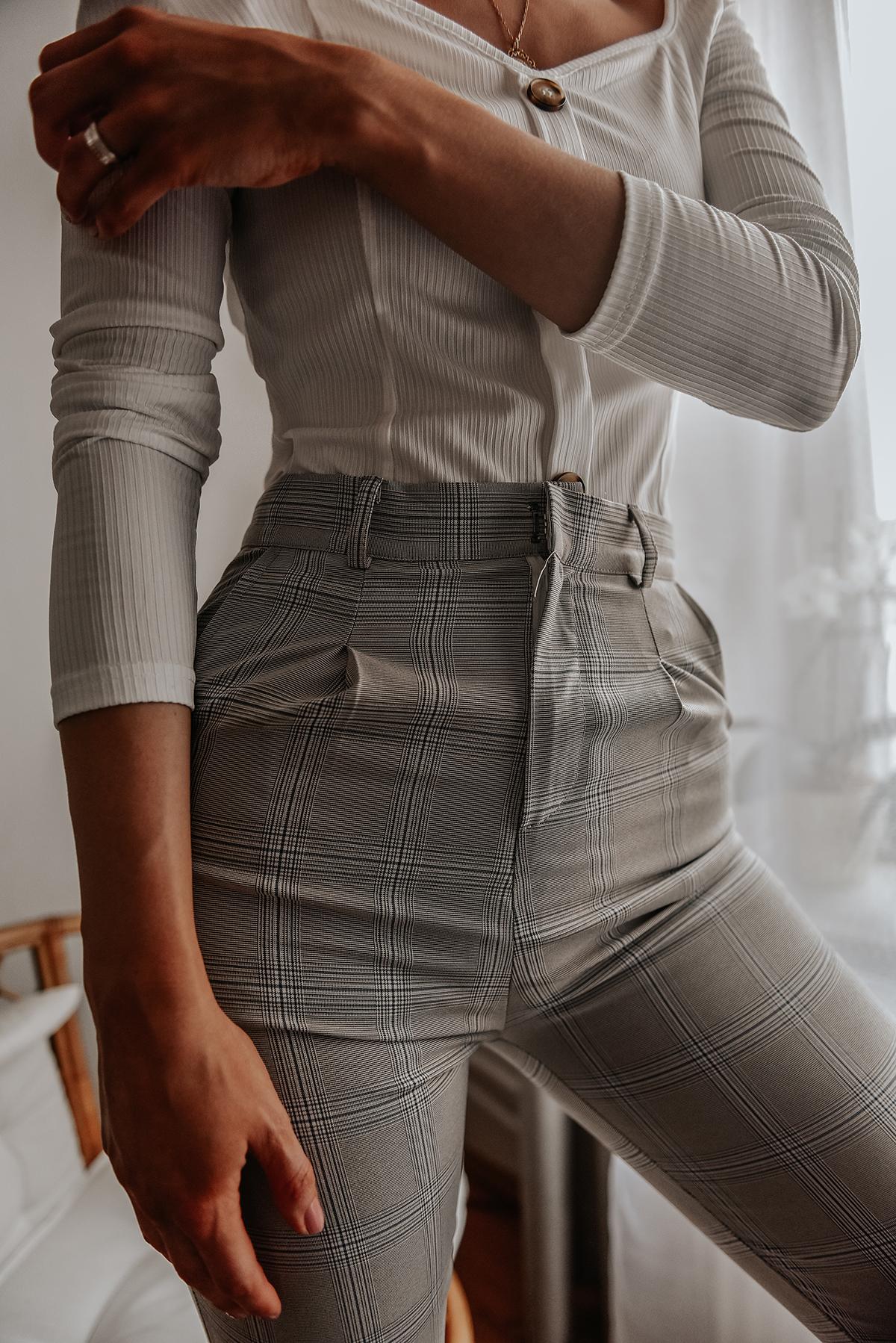 Shein plaid pants
