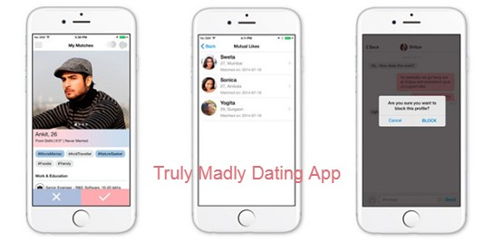 Truly Madly Dating App